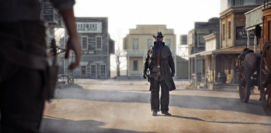 Wild West gunfight
